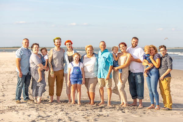 Vanselous Family Shore Portraits
