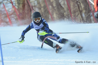 Slalom, Ladies CAN - QC - SKI BROMONT Fev 16 2013