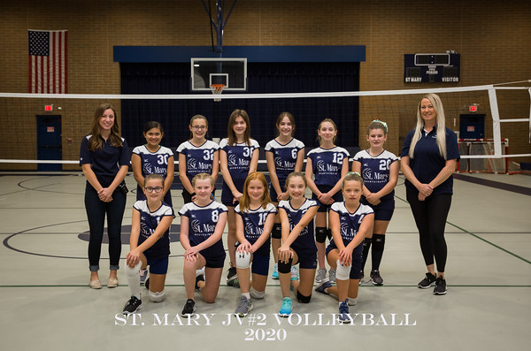 St. Mary Volleyball JV2 2020
