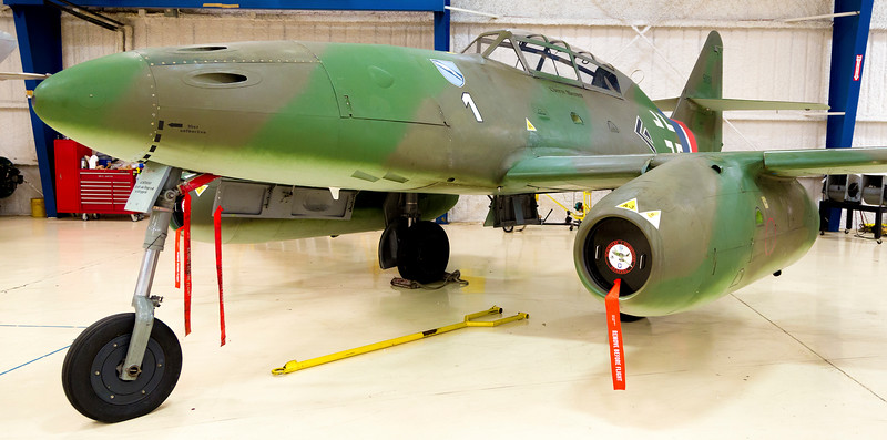 Germany's Messerschmidt ME-262 -- first jet plane to see combat