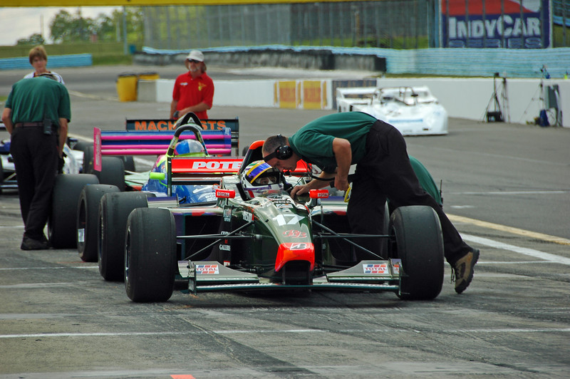 Michel Gensini / 1999 Lola Formula 3000