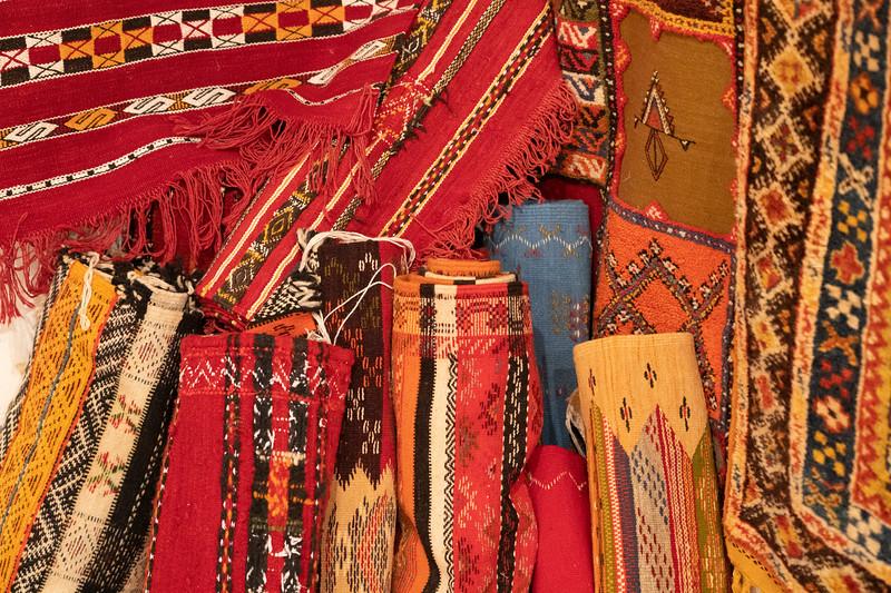 Berber carpets in Morocco