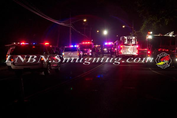 Malverne F.D. Basement Fire 1201 Hempstead Ave. 10-2-11