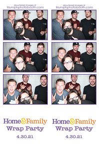 4/30/21 - Home & Family Wrap Party