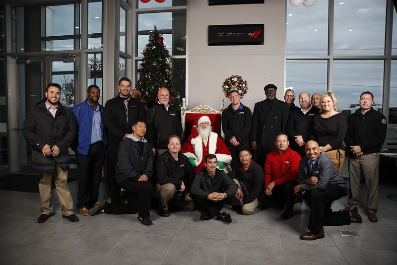 Frisco Dodge Holiday party in Frisco, TX on December 8,  2016. (Photo by Gregg Ellman)