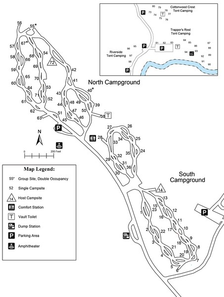 Turtle River State Park (Campground Map)