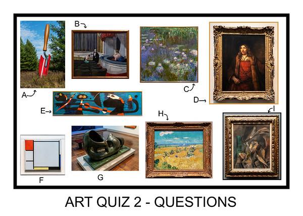Art Quizzes