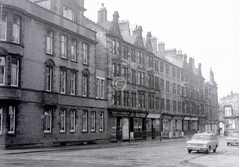St Andrew's St, south side.  