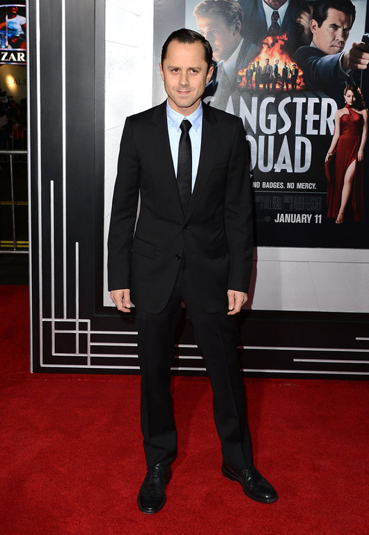 ". Actor Giovanni Ribisi arrives at Warner Bros. Pictures\' ""Gangster Squad\"" premiere at Grauman\'s Chinese Theatre on January 7, 2013 in Hollywood, California.  (Photo by Jason Merritt/Getty Images)"