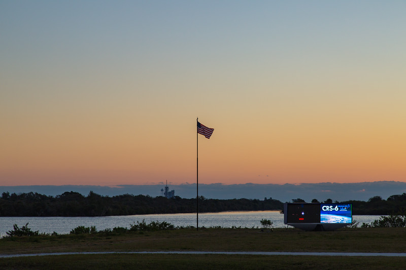 Sunrise at Kennedy Space Center