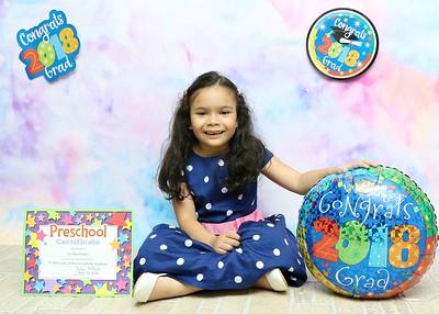 Cecilia Preschool Graduation 2018