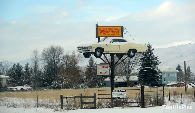 Kelly's Auto Salvage Wrecker and Service in Arlee, Montana