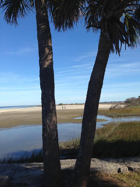 Walking on the Sandbar