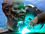 Installation of Statue of Oliver Tambo October 2007