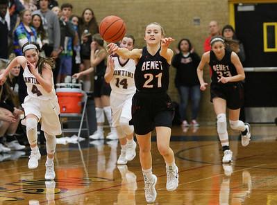 Benet vs. Montini girls basketball sectional