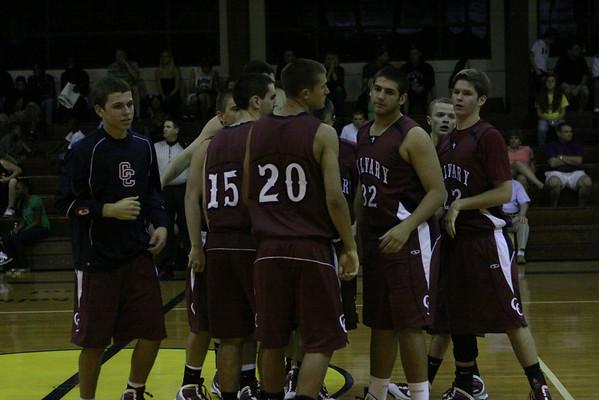 CCHS vs SPC Boys V  Basketball