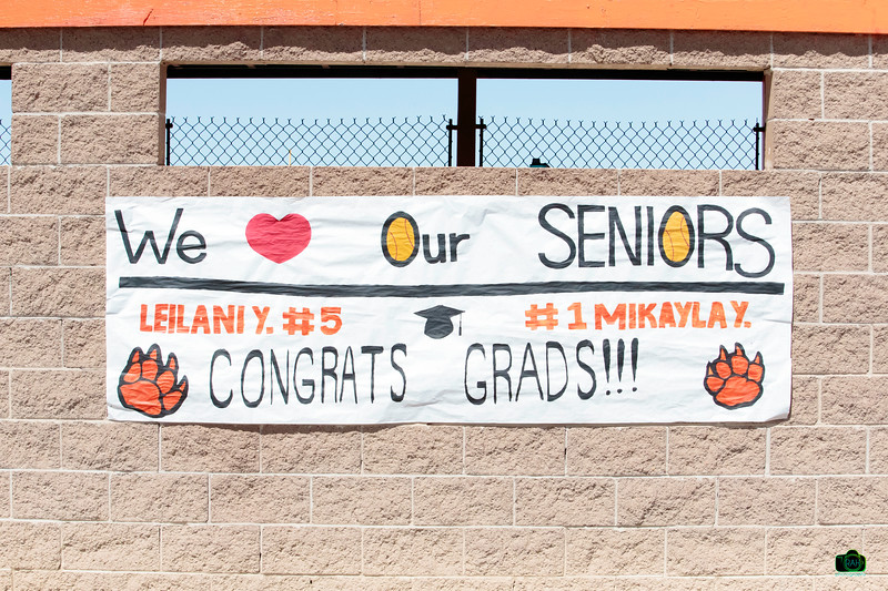 GHS vs Aztec Softball Senior Night 5-3-2019
