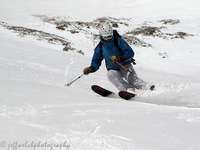 Mt. Sniktau Skiing 5/7/2011