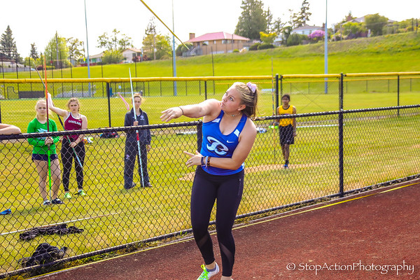 2019-05-17 Sea-King District Track and Field Finals - 4A Girls
