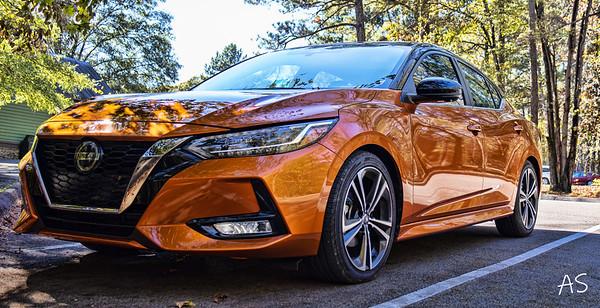 Lily (My Monarch Orange Nissan Sentra)