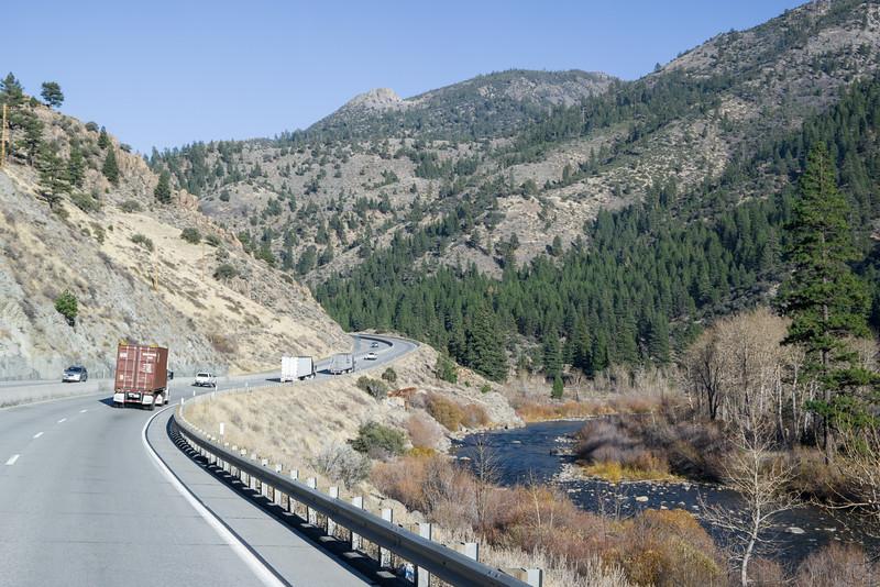 I-80 Near Nevada Border