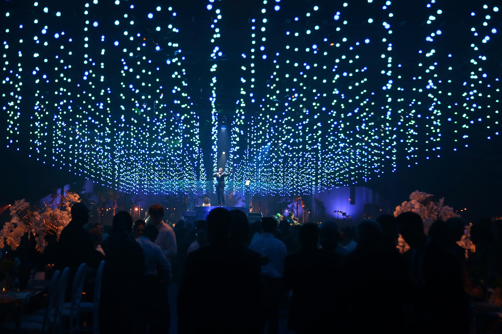 . General view of atmosphere at the Governors Ball during night two of the Television Academy\'s 2018 Creative Arts Emmy Awards at the Microsoft Theater on Sunday, Sept. 9, 2018, in Los Angeles. (Photo by Willy Sanjuan/Invision/AP)