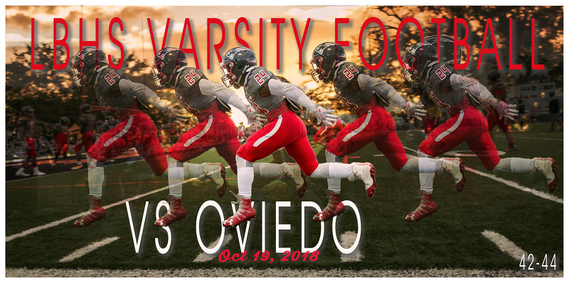 LBHS V FB vs Oviedo - Oct 19, 2018 AWAY
