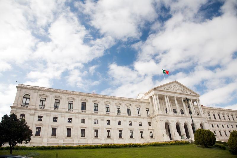 Sao Bento Palace, the Portuguese parliament, Lisbon