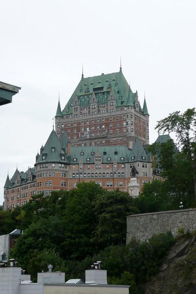 Chateau Frontenac. Quebec City