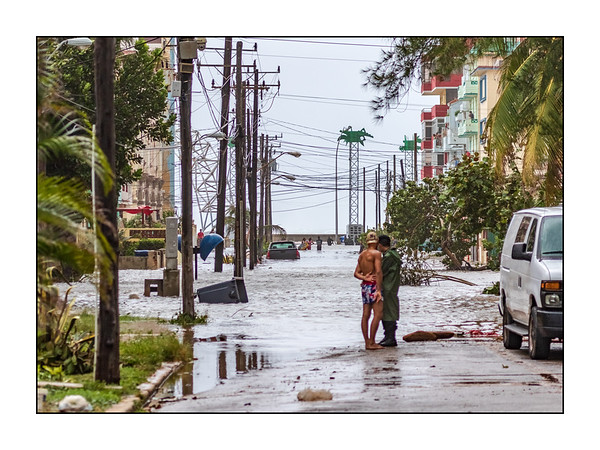 Hurricane Irma, Havana. September 2017