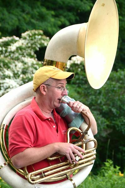 Jazz Ambassadors play concert at Lilac Park-071614