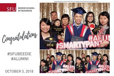 SFU Beedie Graduation 2018