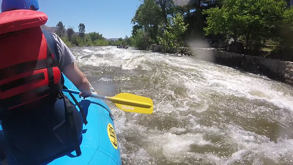 5/13/2017-Video of Kern River Rafting