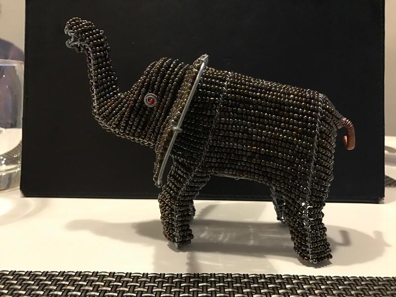 Beaded Elephant - Lisa Swenson