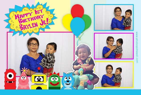 Baylen Jr. 1st Birthday (Fusion Portrait)