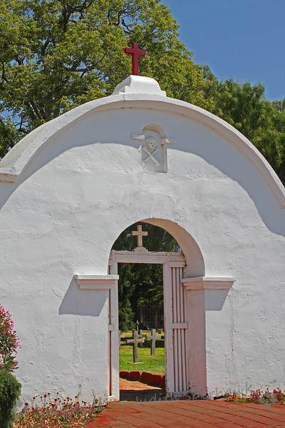 Gateway to the Cemetary