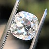 2.35ct Old Mine Cushion Cut, GIA J VS1 11