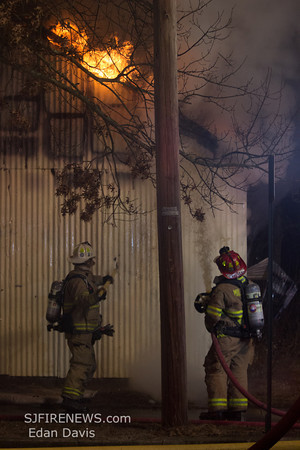 02-06-2014, Structure, Millville City, Cumberland County, E. Vine St. and N. 8th st.