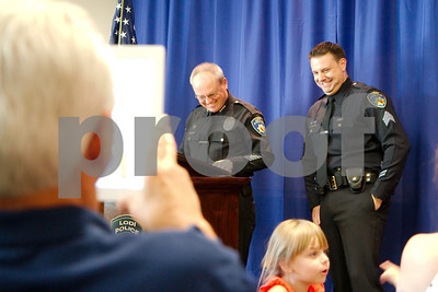 Manetti Promoted to Rank of Sergeant