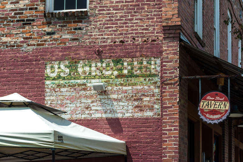 Ellijay Ghost Coke Wall Sign
