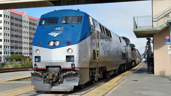 Amtrak's Coast Starlight to Los Angeles