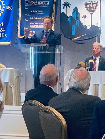 Beverly Hills Rotary Club- February 2020