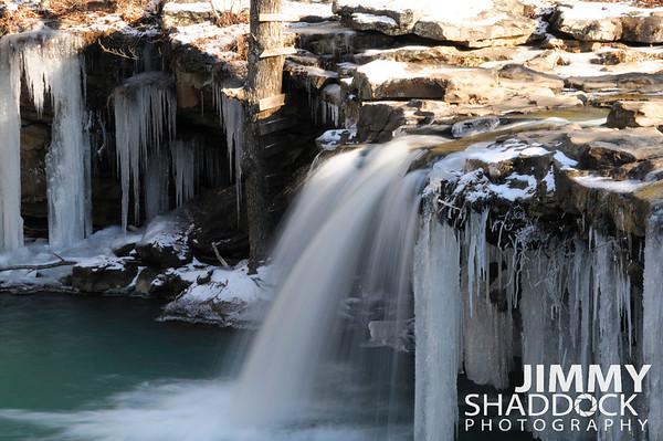 Boxley, Buffalo River, Snow & Elk