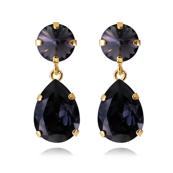 Classic Drop Earrings : Graphite gold.jpg