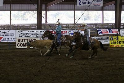 Llano County Team Roping 3rd Go