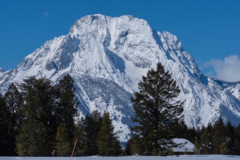 Mt Moran, Teton National Park