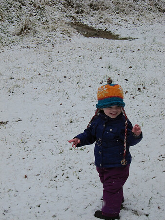 Playing in the snow 2-19-12