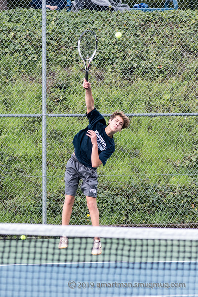2019 Boys Varsity Tennis vs. Hillsboro