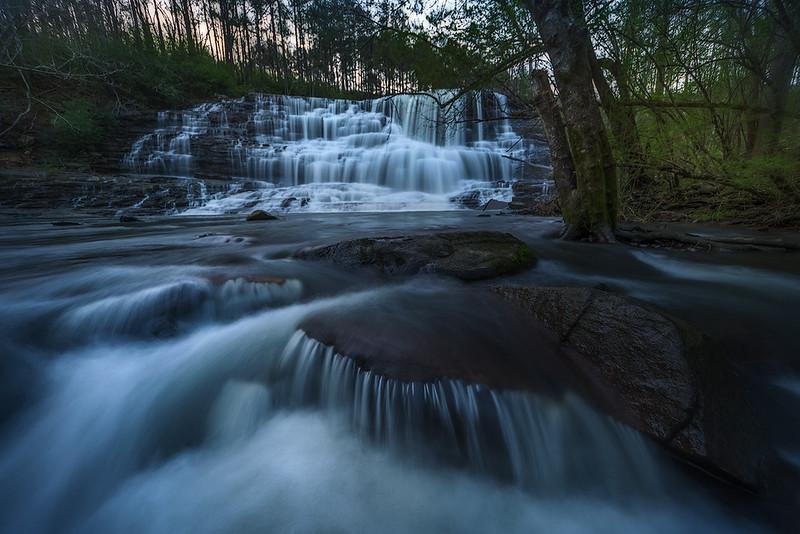 Welti Falls Cascade Early Spring web.jpg