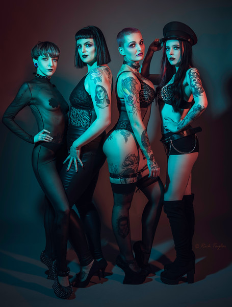 Gothic Girls Promo Shoot